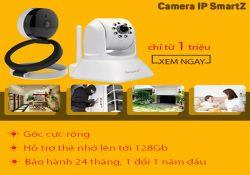 Hướng dẫn cấu hình camera Smartz và đưa camera ra phòng