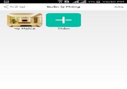 Cách tạo phòng trên phần mềm STK SmartZ