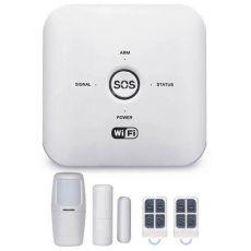 Bộ Báo Động Chống Trộm GW03 Qua WIFI + Sim GSM